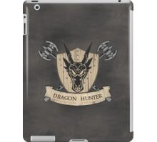 The Dragon Hunter (V1) iPad Case/Skin