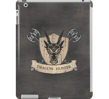 The Dragon Hunter (V1) iPad Case/Skin