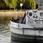 Graffiti boat by dyanera
