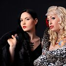 Liss and Katie by BlackSunshine