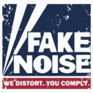 Fake Noise - distressed print by portispolitics