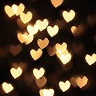 Valentine Heart Bokeh by Andy Green