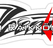 Kimi Raikkonen - Iceman (Helmet Colours) Sticker