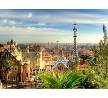 """""""Parc Guell"""" (Barcelona) Photographic Print"""