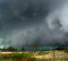 Darling Downs Gustfront - November 17th, 2012 by SouthBrisStorms