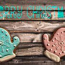 Merry Christmas gingerbreads card by Delphimages