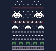 Holiday Invaders by mechantefille