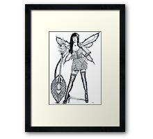 Guitar Fairy Framed Print