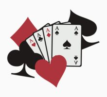 Poker signs cards by Designzz