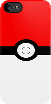 Pokemon Pokeball iPhone Case by s0ph13c