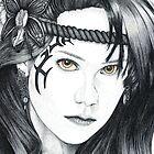 Amazon Warrior (square version) by Paul Stratton
