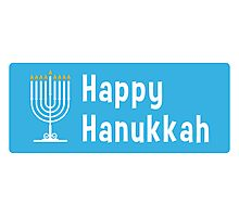 Hanukkah sticker Photographic Print