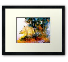 Wild Thicket.. Framed Print