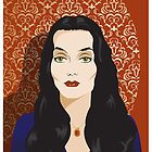 Morticia A. Addams by Topher Adam by TopherAdam