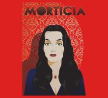 Morticia A. Addams by Topher Adam t-Shirt by TopherAdam