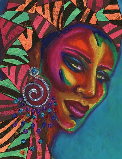 Feminine Mystique by Alga Washington