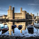 Caernarfon Castle by Roddy Atkinson