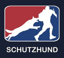 Schutzhund red white and blue by TheWorkingDog