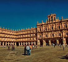 Spain. Salamanca. Plaza Mayor. by vadim19