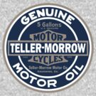 Teller-Morrow Motor Oil - STICKER by Joe Dugan