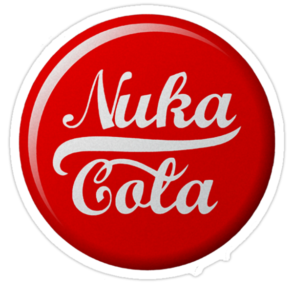 Fallout Nuka Cola Soda Bottle Cape - White by HighDesign