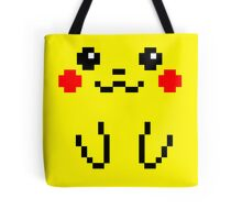 Pikachu Face 8bit Tote Bag