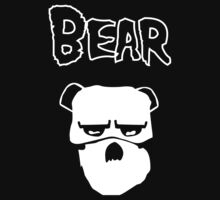 Misfit Bear (for dark clothes) by Bob Buel