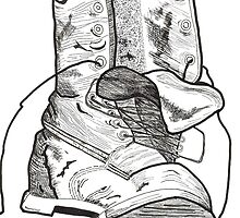 My tired old boot by Bernadette Crotty