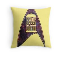 VWORP SPEED AHEAD Throw Pillow