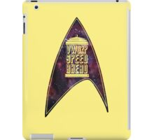 VWORP SPEED AHEAD iPad Case/Skin