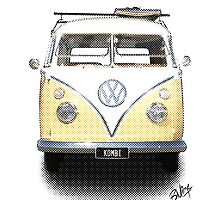 Volkswagen Kombi - News Print #2 by blulime