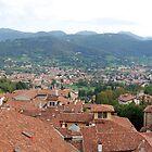 Bergamo Skyline by dyanera