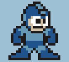Pixel Megaman Standing by roguepixel