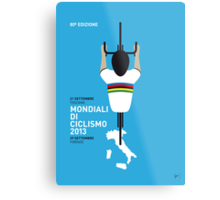 MY Mondiali di Ciclismo MINIMAL POSTER - 2013 Metal Print