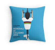 MY Mondiali di Ciclismo MINIMAL POSTER - 2013 Throw Pillow