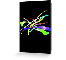 Color Nine Ribbon Greeting Card