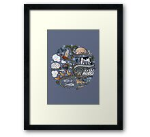 Born to Roam at Christmas Framed Print