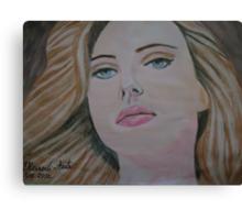 Scarlett Johansson... Canvas Print