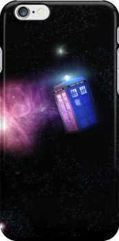 Tardis In Space by lepiraterex
