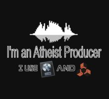 "Atheist Producer (Black) - ""I use Logic and Reason"" by Pegasi Designs"