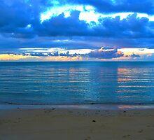 Samoan evening by Keith O'Brien
