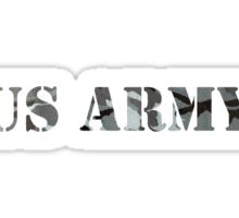 us army camo Sticker