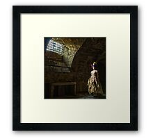 French lady in the Dungeon Framed Print