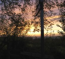 Nazeing Sunset by Nigel Bangert