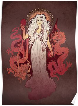 Our Mother of Dragons by MeganLara