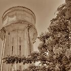 Water Tower in Nassau, The Bahamas by 242Digital