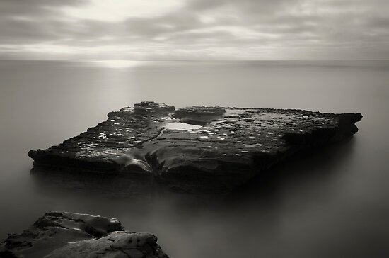 Black and White Island by jswolfphoto