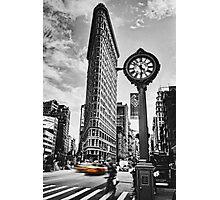 Flatiron Rush Photographic Print
