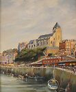 Le Treport - France by Beatrice Cloake
