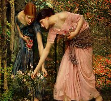 Gather-ye-Roses by Irene  Burdell